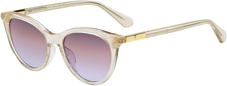 Kate Spade Janalynn/S Sunglasses-(02T3QR) Crystal Beige/Brown Violet Grad-51mm