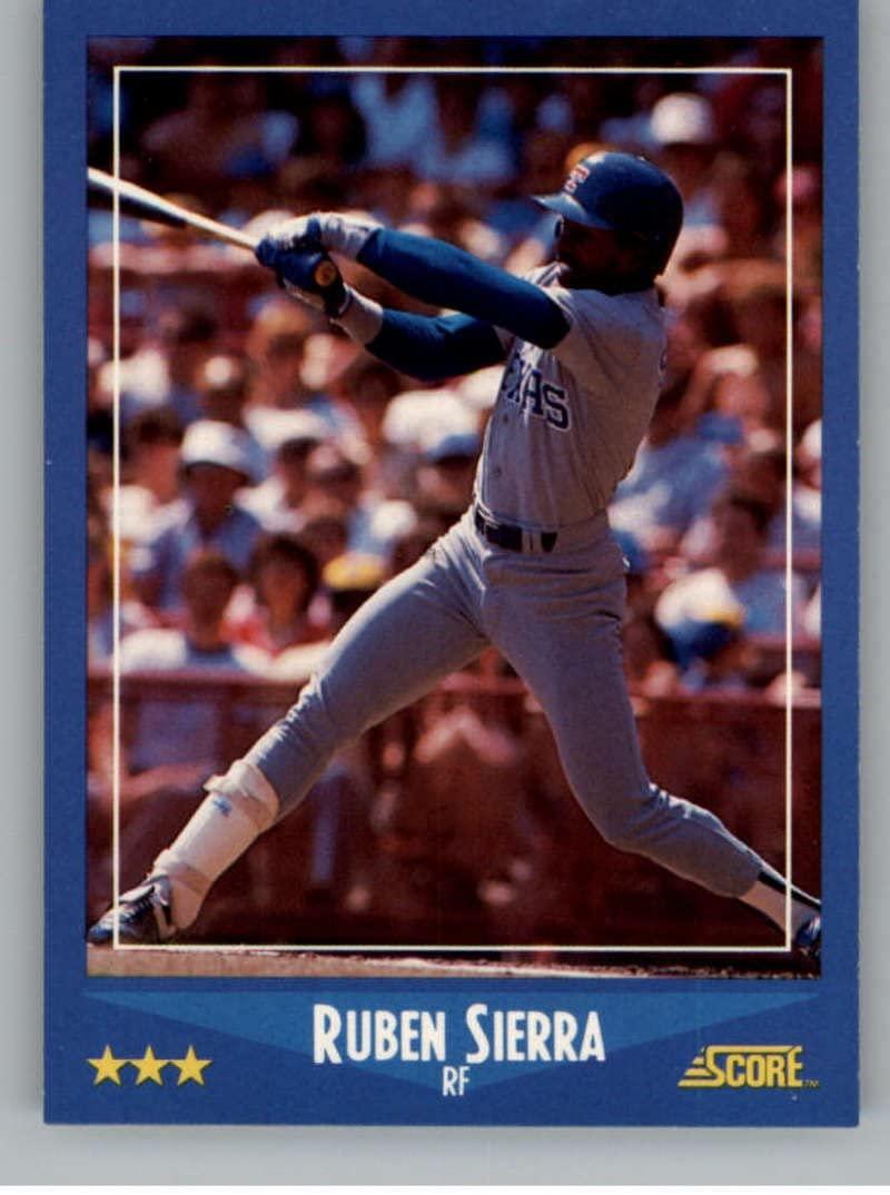 1988 Score #113 Ruben Sierra NM-MT Rangers