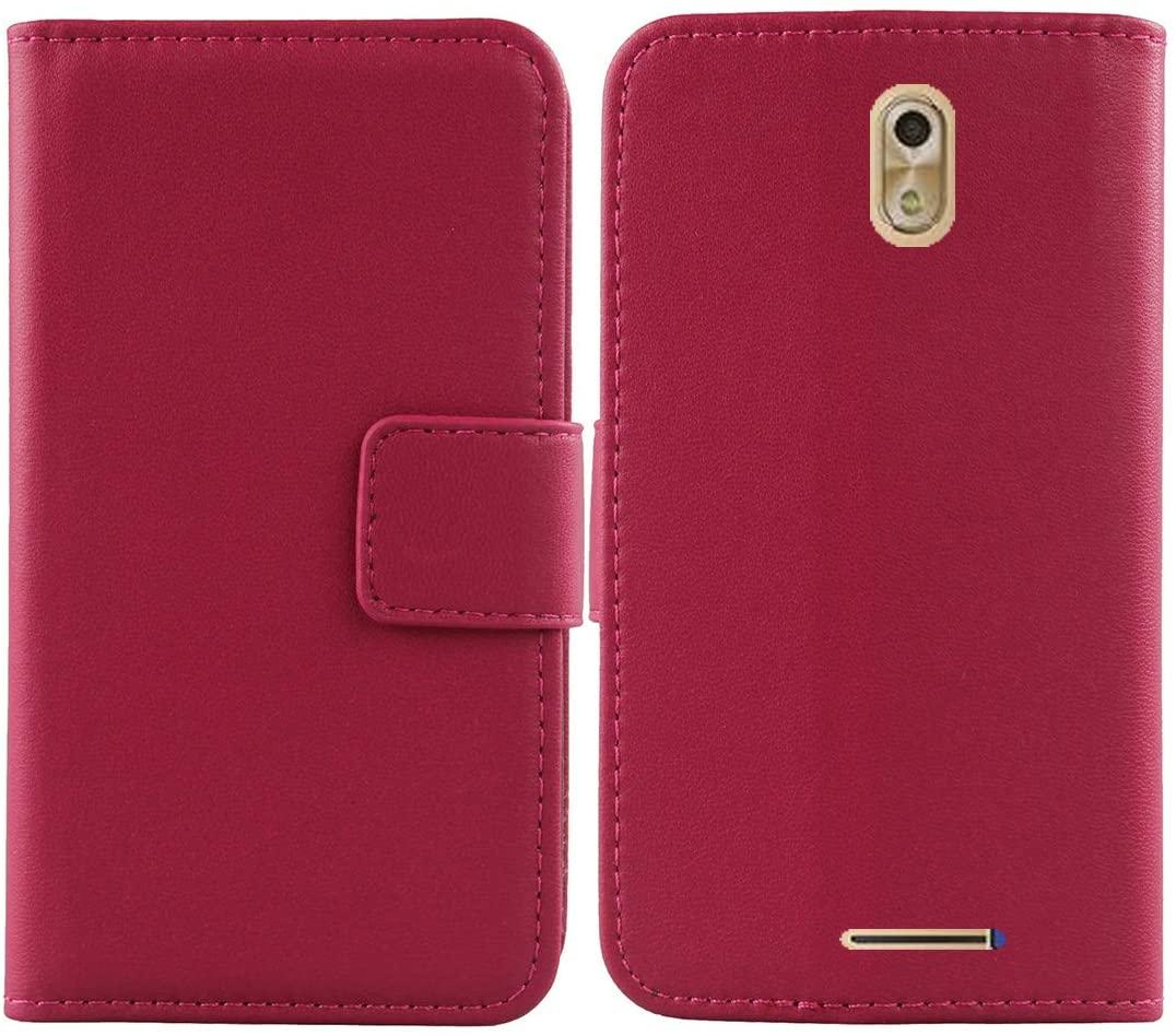 Gukas Design Genuine Leather Case for Blu Studio G4 5.2