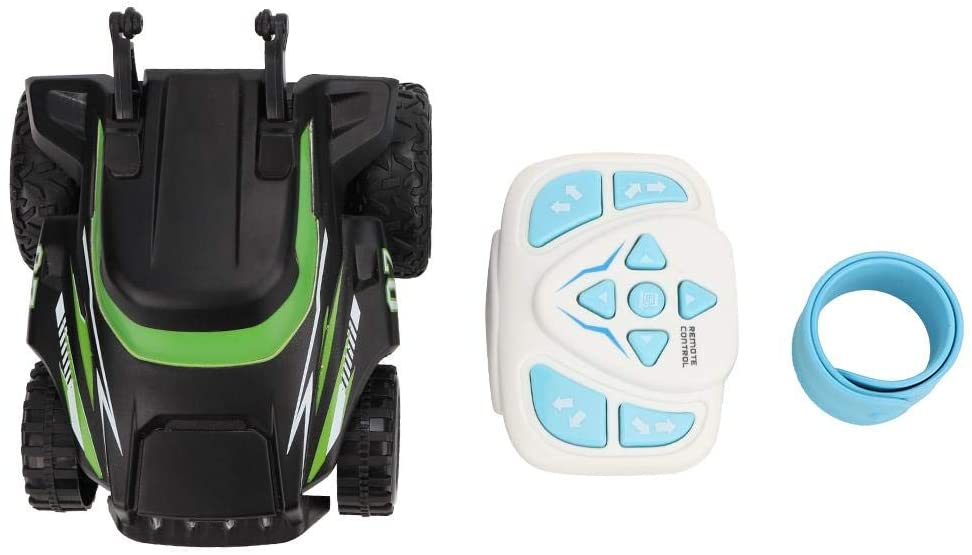 VGEBY1 RC Stunt Car, Watch Remote Control Car Toy Transform 360° Rotation RC Controlled Car Toy(Green)