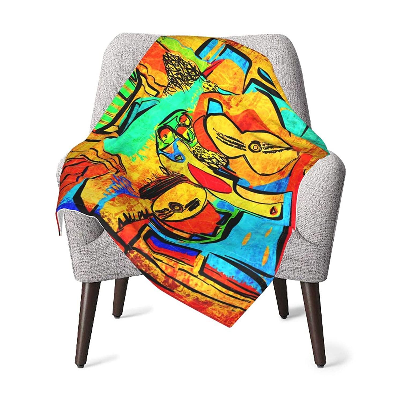 Picasso Unisex Baby Blanket Super Soft Reversible Nursery, Swaddle Stroller Infant & Toddler Bedding for Kids 30 x 40 Inch(76x102cm)