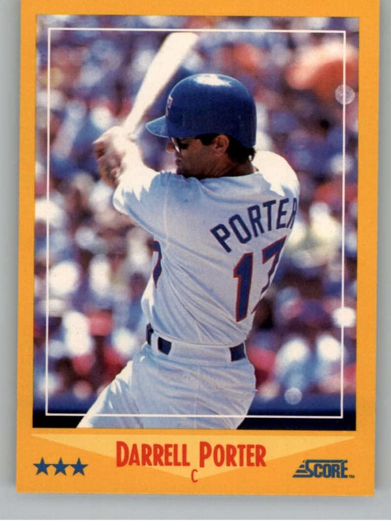 1988 Score #537 Darrell Porter NM-MT Rangers