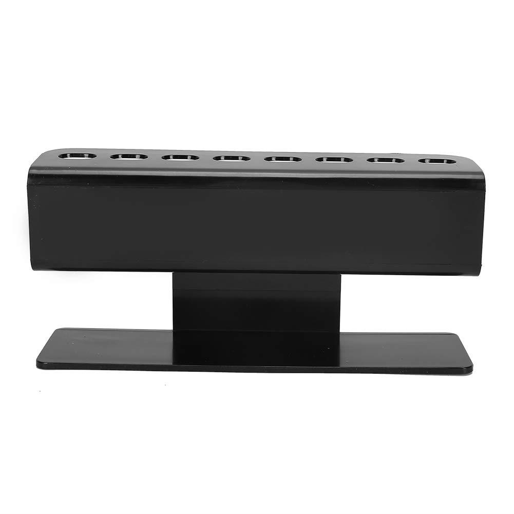 Eyelash Tweezers Stand, Acrylic 8‑hole Eyelash Extension Tweezers Holder, Double‑layer Design Eyelash Tweezers Place Tool