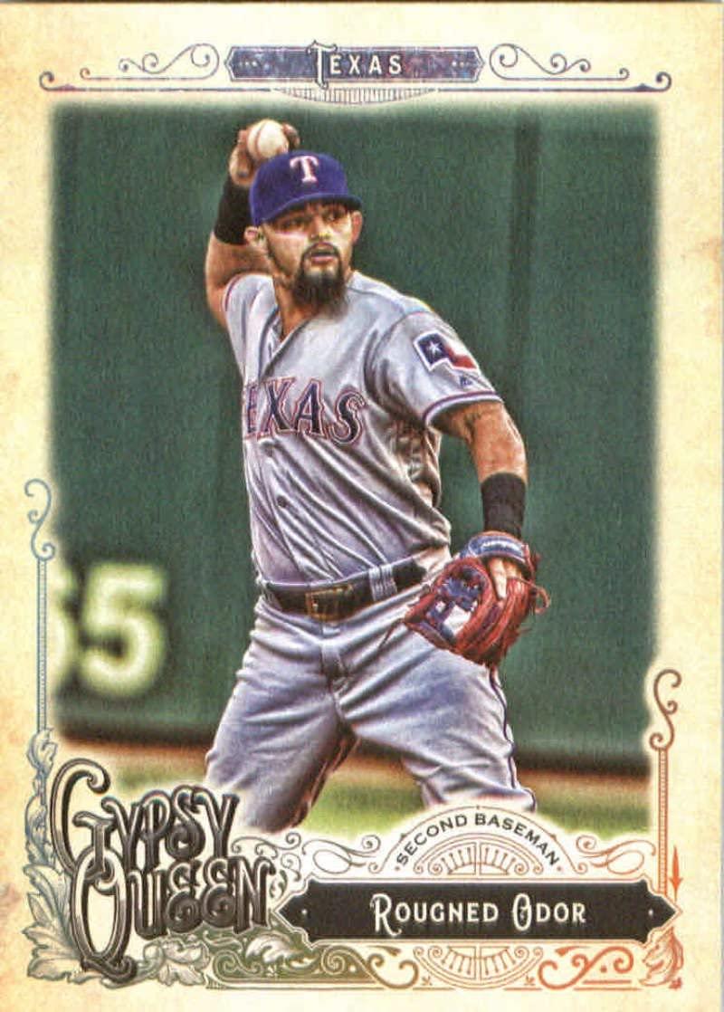 2017 Topps Gypsy Queen #259 Rougned Odor Texas Rangers Baseball Card
