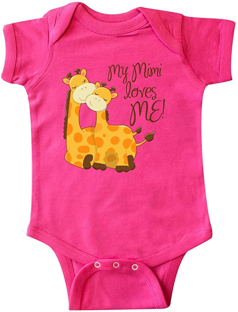 inktastic My Mimi Loves Me Infant Creeper