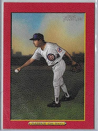 2006 Topps Turkey Red #395 Red Parallel Greg Maddux