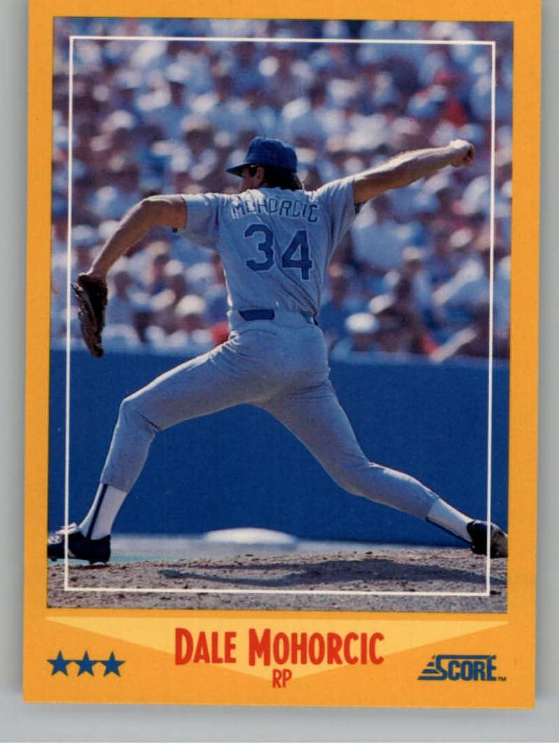 1988 Score #452 Dale Mohorcic NM-MT Rangers