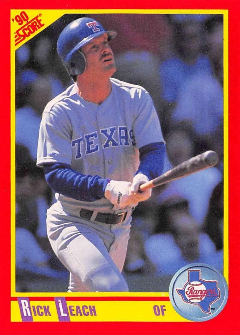 1990 Score #426 Rick Leach Rangers