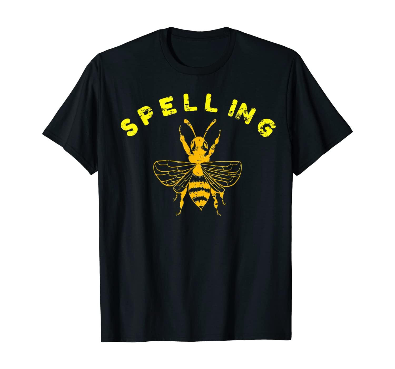 Funny Spelling Bee Lover Beekeeping Honey Gift Hobby Novelty T-Shirt