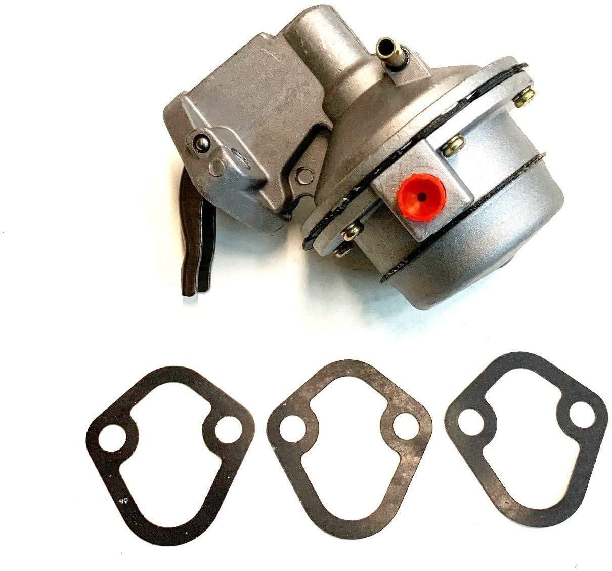 Sea Water Fuel Pump for Mercury Mercruiser 454 502 7.4L 8.2L Replaces 812454A1 862048A1 812454A3 60601 M60601 18-7288 187288 18 7288