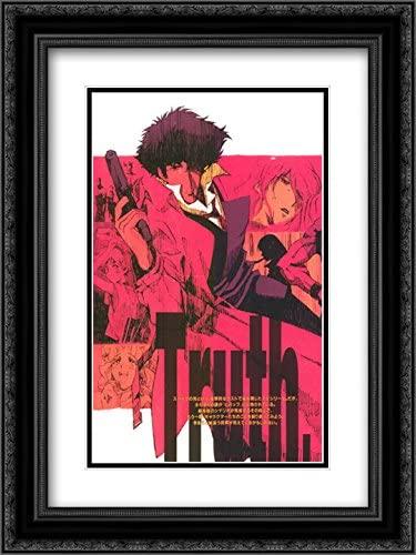 Cowboy Bebop 18x24 Double Matted Black Ornate Framed Movie Poster Art Print