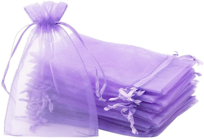 100PCS Organza Bags 4x6