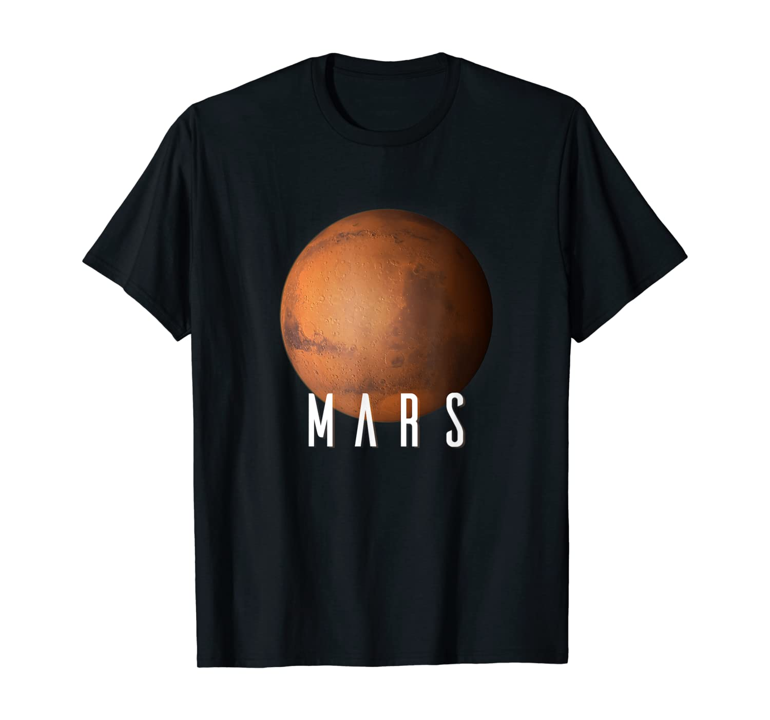 Kids Solar System Planet Mars - Kids Space Science Gift T-Shirt