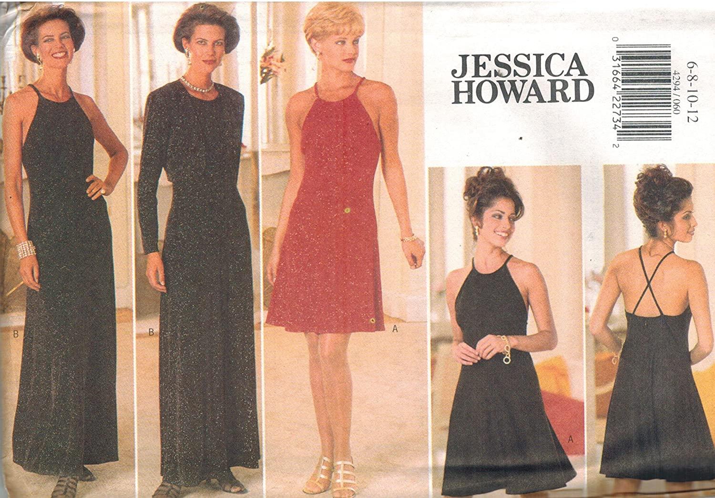 4294 Uncut Butterick Misses Sewing Pattern Jacket Dress Size 6 8 10 12