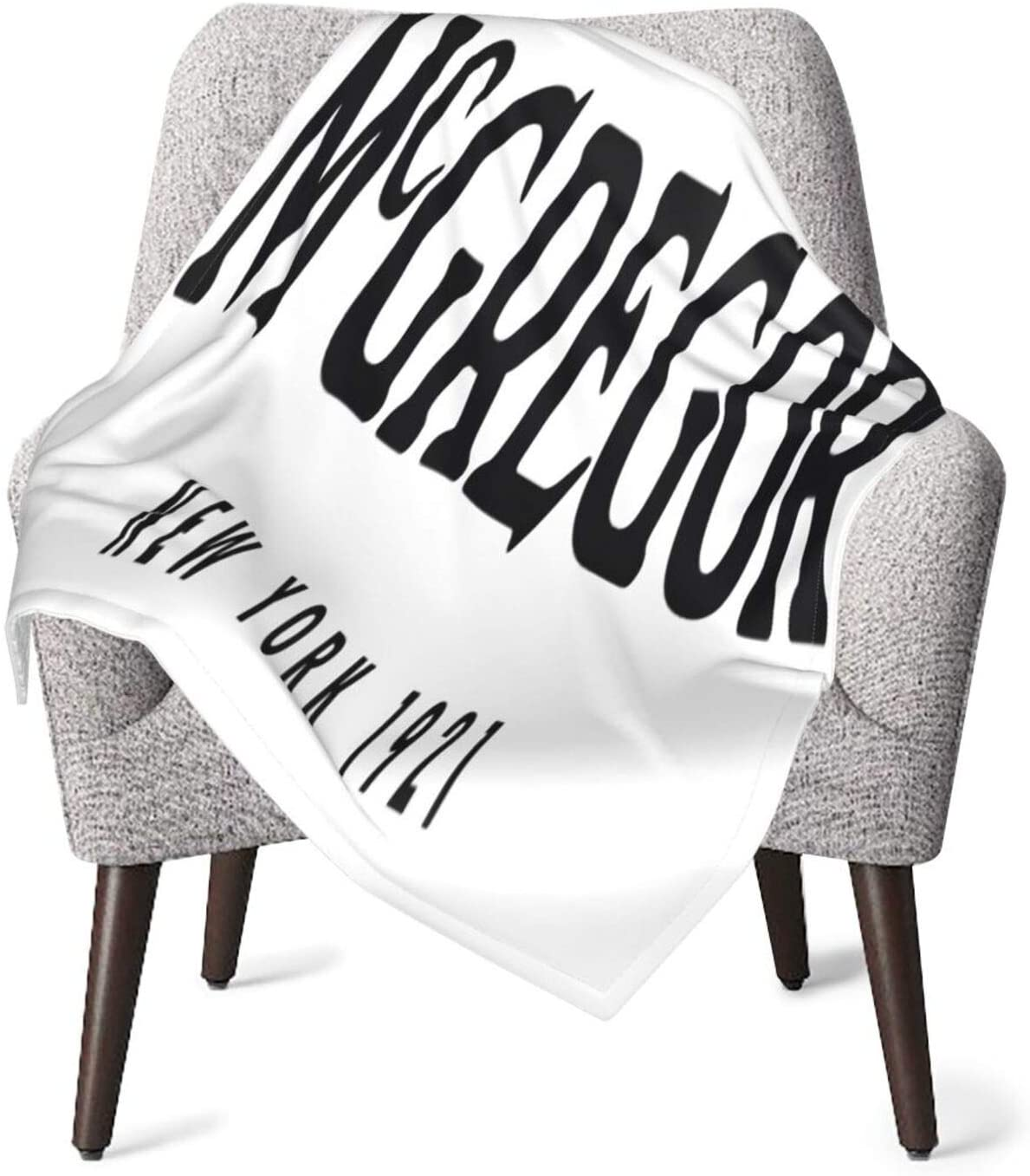Entuil Conor McGregor Baby Blanket Super Soft Receiving Blankets for Newborns and Toddlers Daycare Preschool 30 X 40 Inch