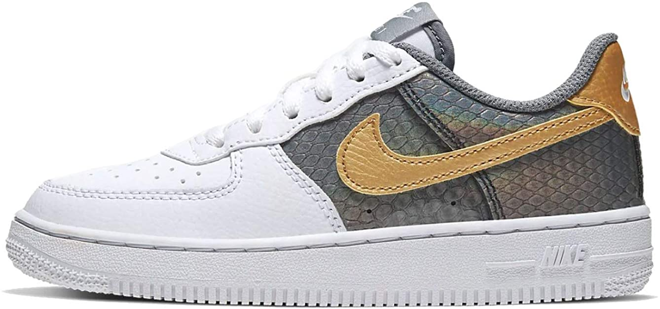 Nike Girls' Little Kids Air Force 1 SE Casual Shoes