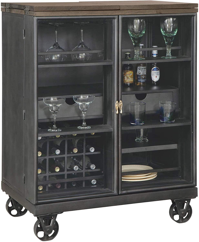 Howard Miller AL Fresco Wine Console, Wood