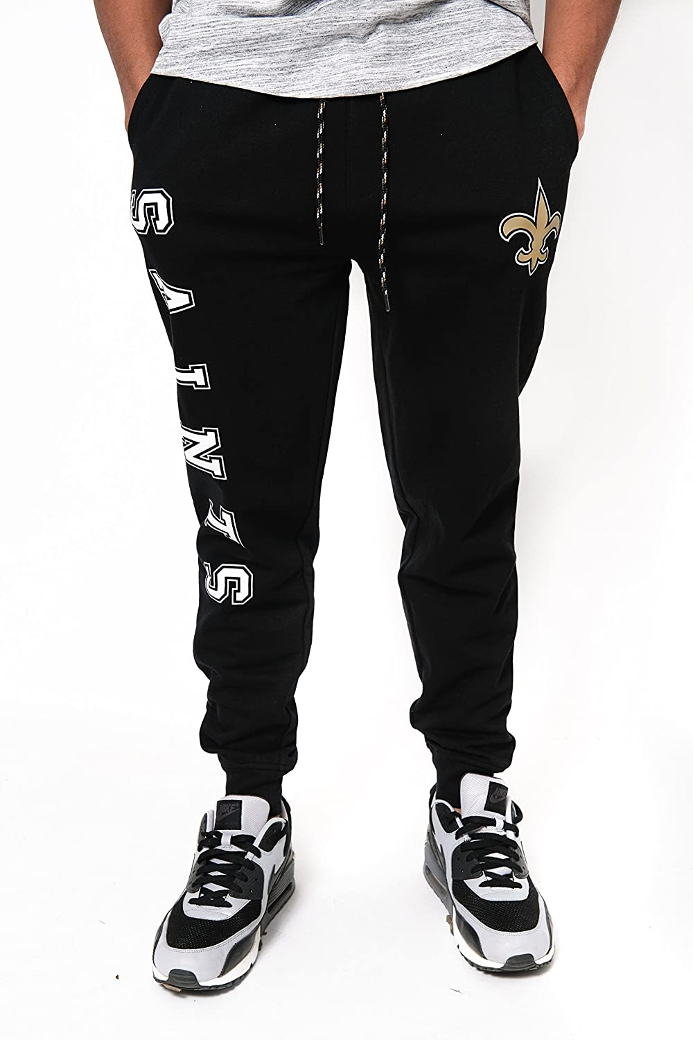 Ultra Game NFL Mens Active Basic Jogger Fleece Pants