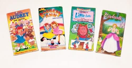 Classic Cartoons Collection #10 (4pk): Cinderella; Raggedy Ann; Little Audrey; Little Lulu and Friends