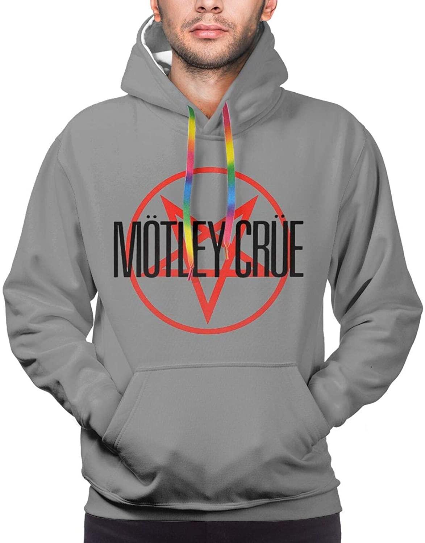 Motley Crue Mans Hoodies Sweatshirt Pullover Long Sleeve Warm Winter Hoody