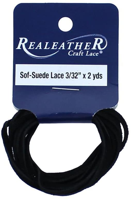 Silver Creek Leather SFT Suede Lace, 3/32