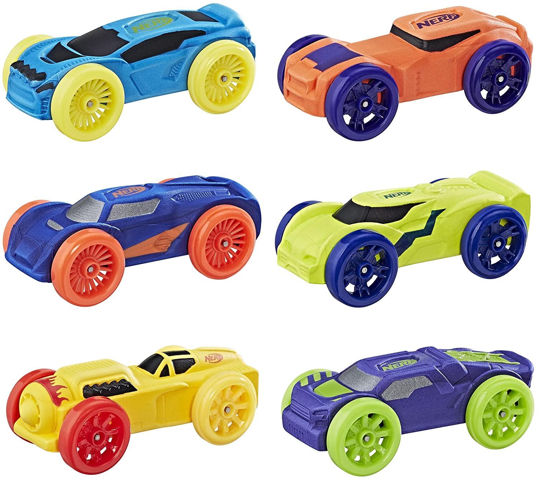 Nerf Nitro Foam Car 6-Pack (Version 2)