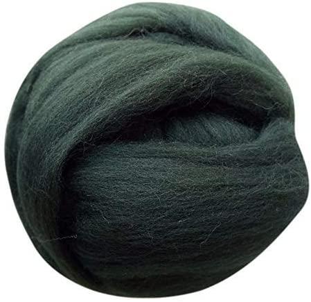 Giant Yarn Chunky Knit Yarn Wool Yarn Extreme Arm Knitting Colors 1 kg(2.2 lbs) Chunky Wool (Graphite Grey)