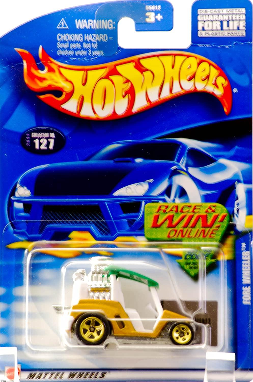 Hot Wheels Fore Wheeler 2002 #127 1:64 Scale