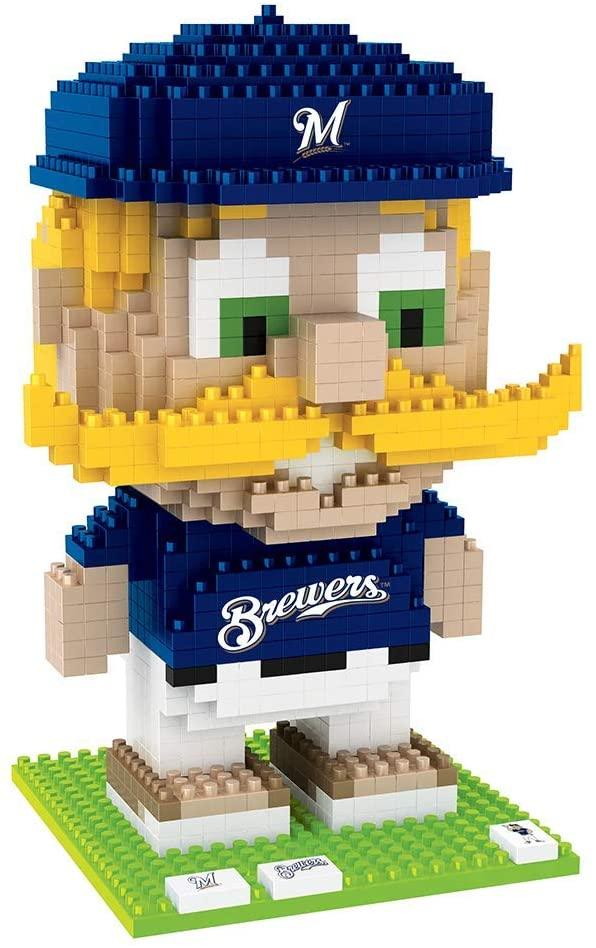 FOCO MLB Unisex-Adult 3D Brxlz - Mascot