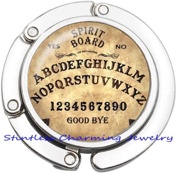 Ouija Board Purse Hook-Custom Ouija Board Bag Hook-Halloween Purse Hook-Spirit Board-Halloween Art Bag Hook-JV377