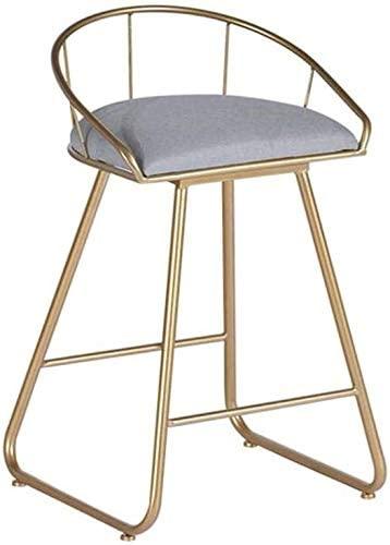 ンリアンに聞-花ラック Barstools Bar Height Counter Stools Modern Bar Stools Pub Bar High Stool Bar Stools with Backrest Velve Upholstered Dining Café Chairs 45cm 1023