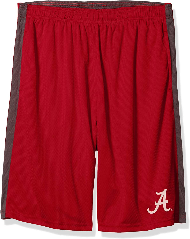 Profile Varsity Mens Big & Tall Athletic Shorts, Card Red/Charcoal, 6X