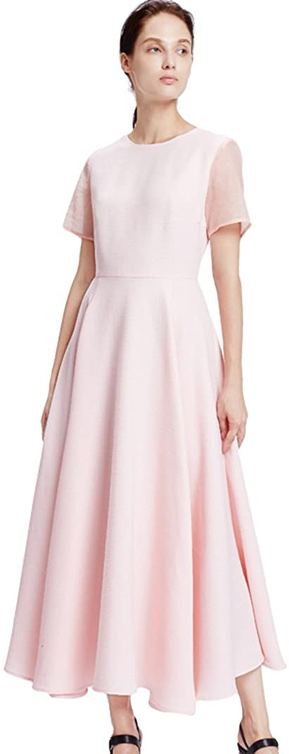My Bun 2017 Summer Fashion Empire Waist Big Hem Womens Dresses