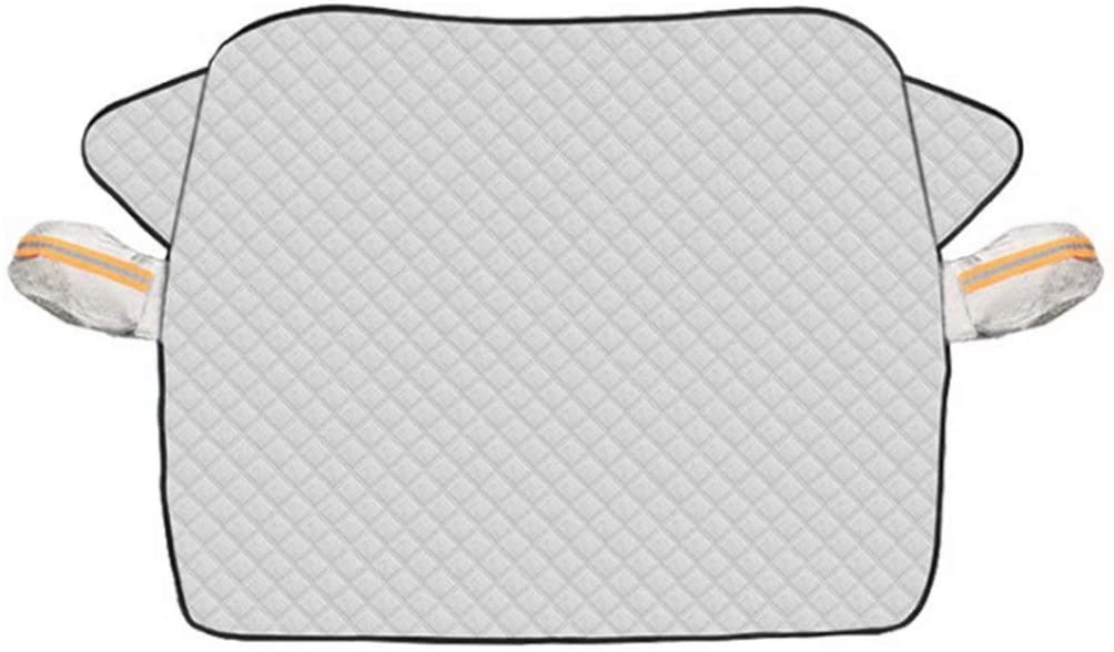 Magnetic Car Windshield Cover Snow Protector Ice Blocked Front Window Protector Exterior Auto Accessories,Fit for Most Cars,240116cm