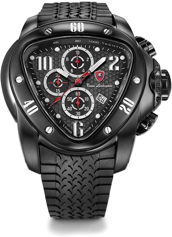 Tonino Lamborghini Spyder 1500 1505 Chronograph Jumbo Mens Watch