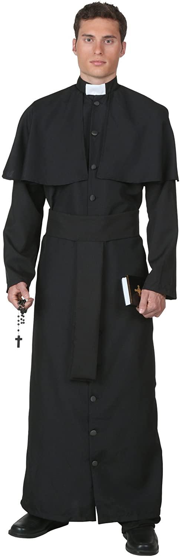Deluxe Priest Costume Priest Costume for Men
