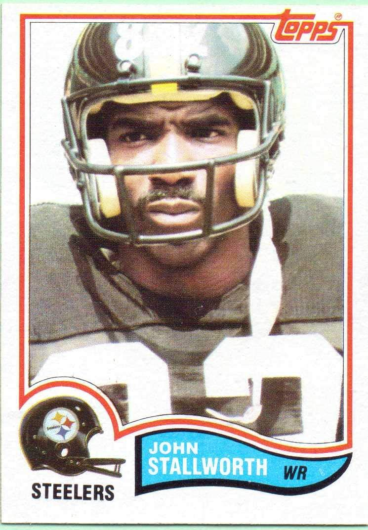 John Stallworth 1982 Topps Football Card #219 - Pittsburgh Steelers