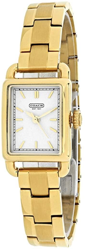 Coach Women's Hamptons elongated Watch - Gold tone