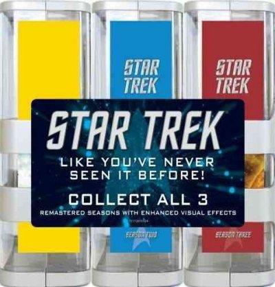 STAR TREK ORIGINAL SERIES 3 SEASON PACK REMASTERED (DVD) (25DI STAR TREK ORIGINAL SERIES 3 SEASON P