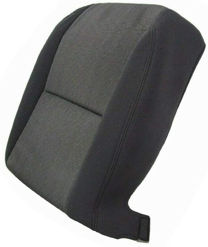Driver Bottom Cloth Seat Cover Black for 2007-2014 Chevrolet Silverado 1500 2500HD 3500HD