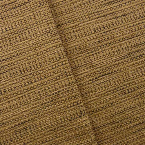 Bronze Brown Rib Woven Home Decorating Fabric, Fabric by The Yard