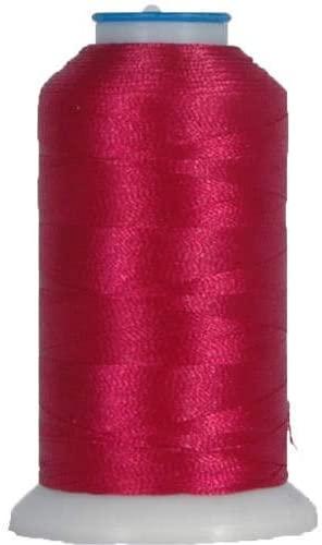 Threadart Rayon Machine Embroidery Thread - No. 150 - Cherry Delight - 1000M - 145 Colors