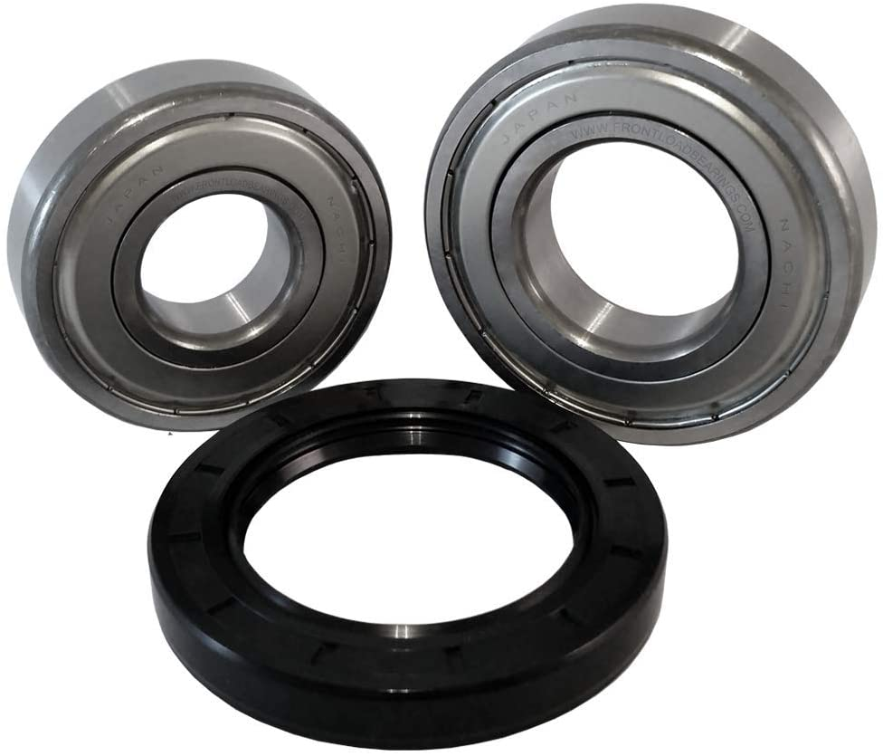 Front Load Bearings Washer Tub Bearing and Seal Kit with Nachi bearings, Fits Kenmore & Maytag Tub 280255 (Includes a 5 year replacement warranty and link to our