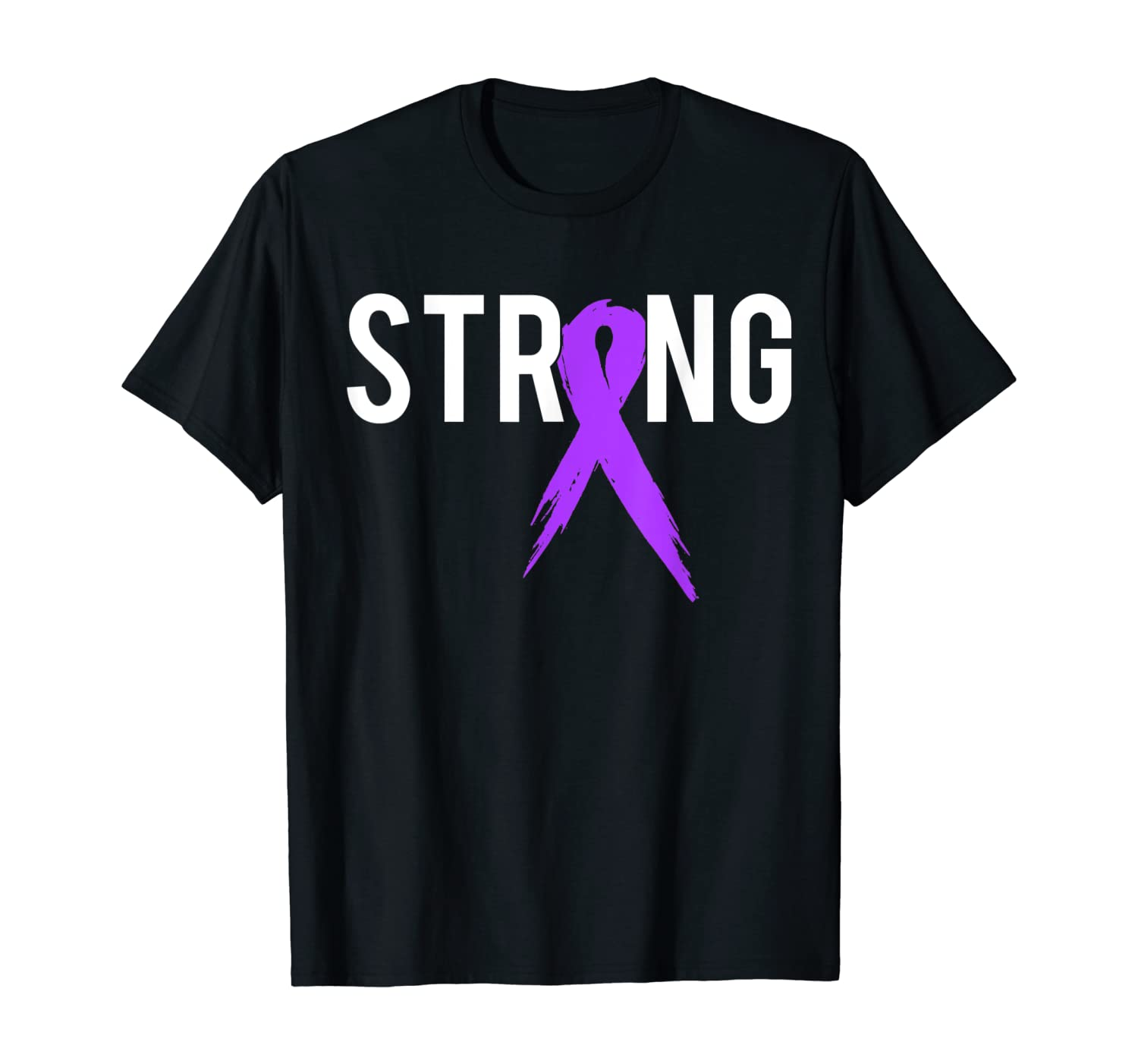 Strong Pancreatic Cancer Awareness Gift Product For Support T-Shirt