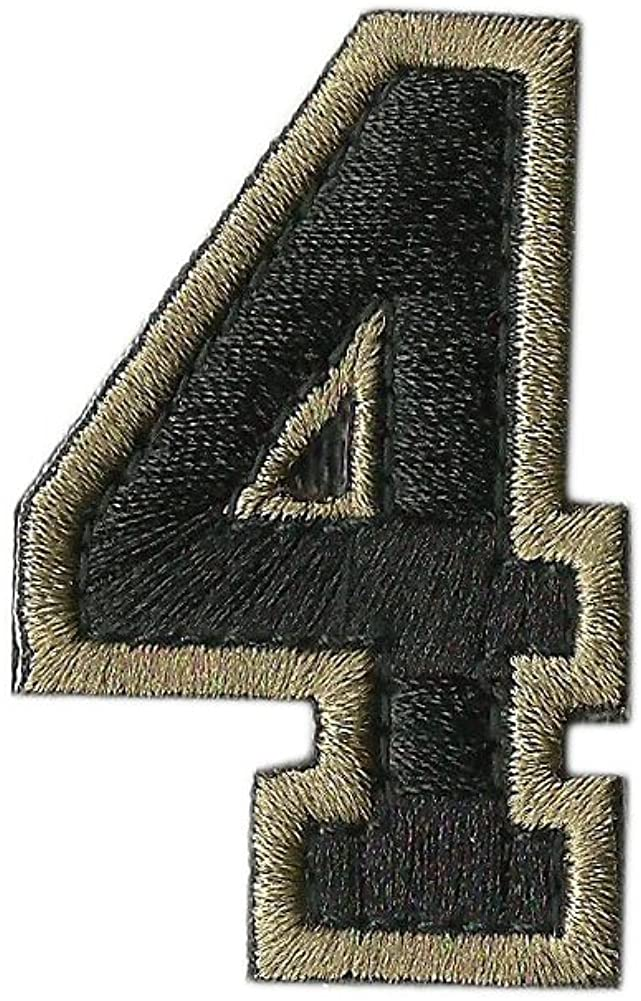 Tactical Numbers Patches - Coyote