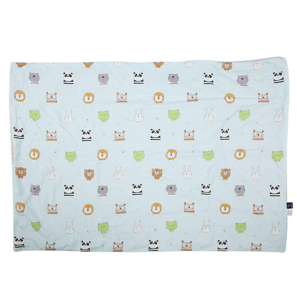 Baby Receiving Blanket, Cartoon Newborn Bath Towel Soft Breathable Swaddle Blanket for Boys or Girls(150 x 105cm-#2)