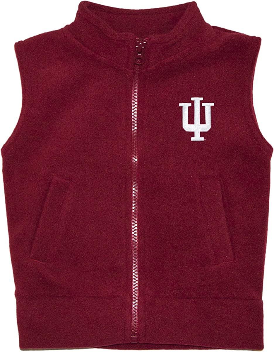Creative Knitwear Indiana University Hoosiers Baby and Toddler Polar Fleece Vest