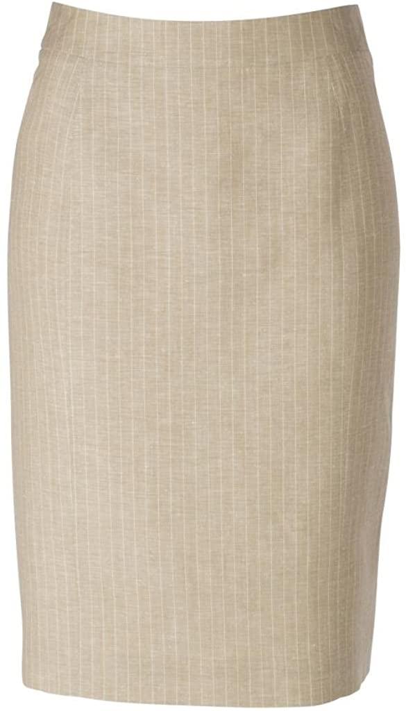 woolmaster Women's Wool/Linen Pencil Skirt