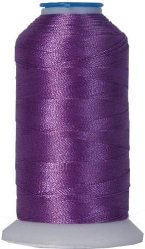 Threadart Rayon Machine Embroidery Thread - No. 264 - Purple - 1000M - 145 Colors
