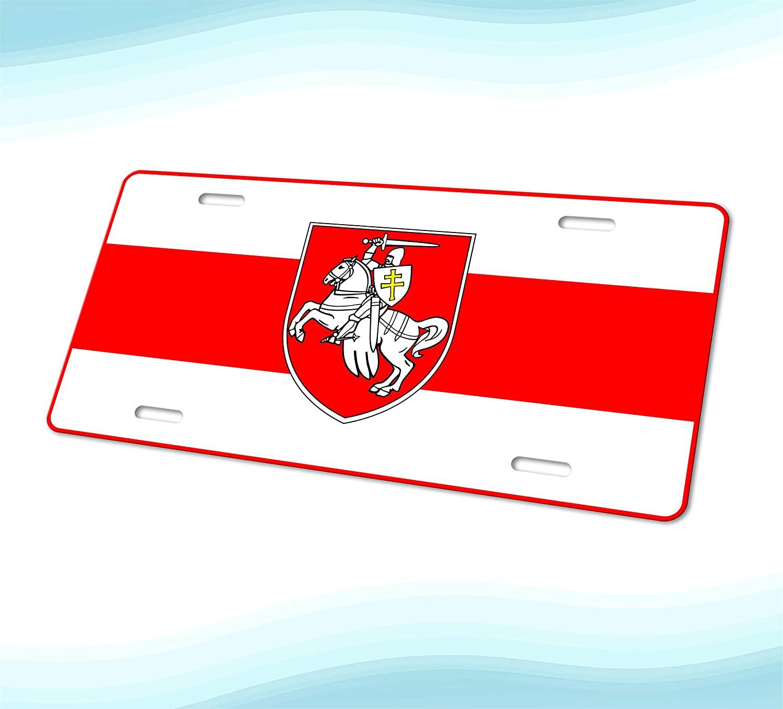 Apedes Pogonya Belarus Decorative License Plate